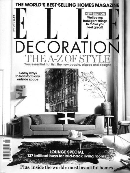 Elle Decoration, May 2010