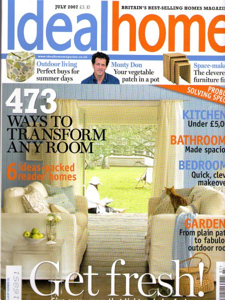 Ideal Home, July 2007