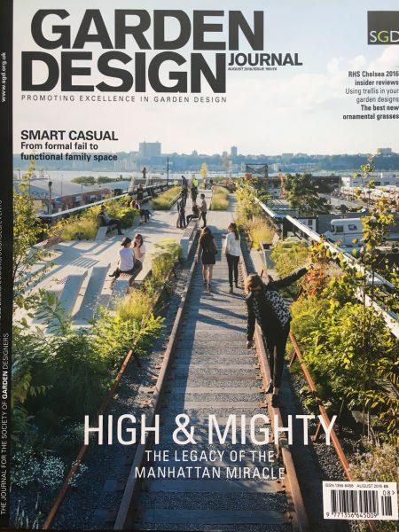 Garden Design Journal, August 2016